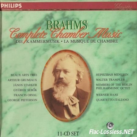 Beaux Arts Trio - Brahms: Complete Chamber Music (1997) FLAC (image + .cue)