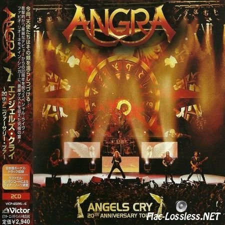 Angra - Angels Cry - 20th Anniversary Tour (2013) FLAC (image + .cue)