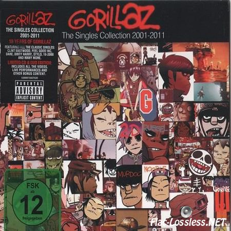 Gorillaz - The Singles Collection 2001-2011 (2011) FLAC (image + .cue)