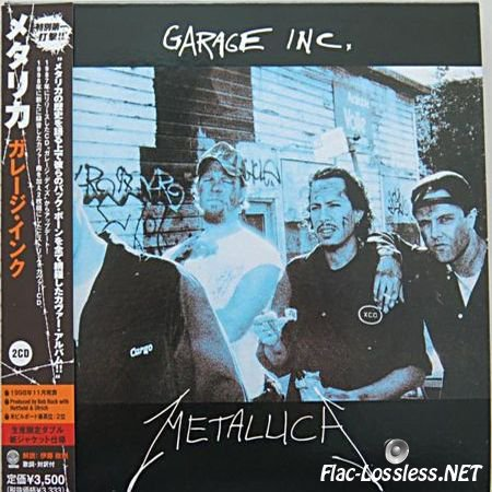 Metallica - Garage Inc. (Japanese Edition) (1998/2006) FLAC (image + .cue)