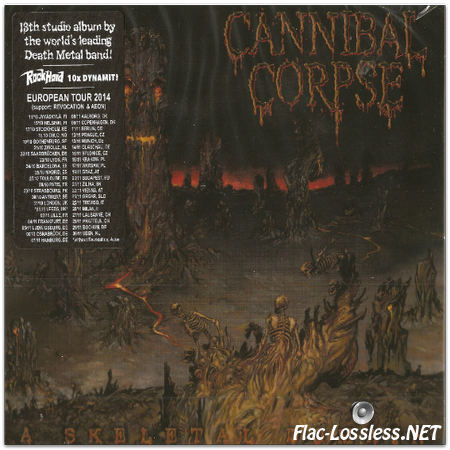 Cannibal Corpse - A Skeletal Domain (2014) FLAC (image+.cue)