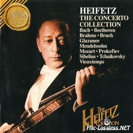 Jascha Heifetz - The Concerto Collection (1994) FLAC (image + .cue)