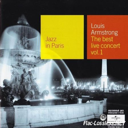 Louis Armstrong - The Best Live Concert (1965/2007) FLAC (image + .cue)