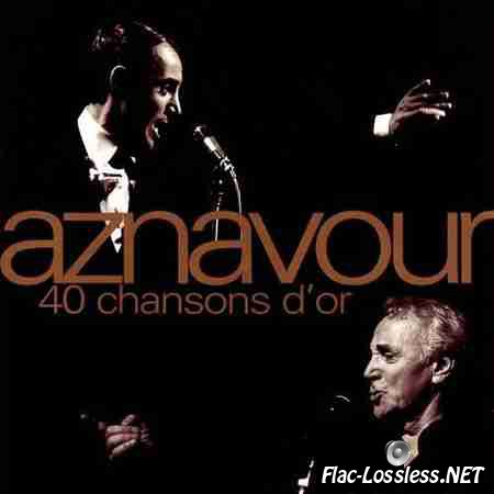 Charles Aznavour - 40 Chansons D'or (1996) FLAC (tracks + .cue)