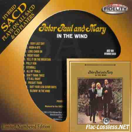 Peter, Paul and Mary - In The Wind (1963/2014 ) WV (image + .cue)