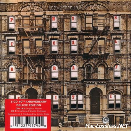 Led Zeppelin - Physical Graffiti 40th Anniversary Deluxe Edition (1975/2015) WV (image + .cue)