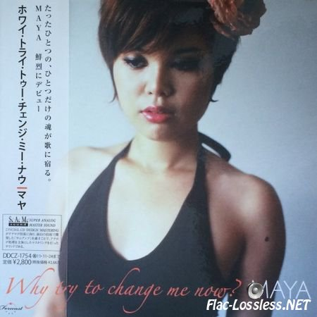 Maya - Why try to change me now (2000) FLAC (tracks + .cue)