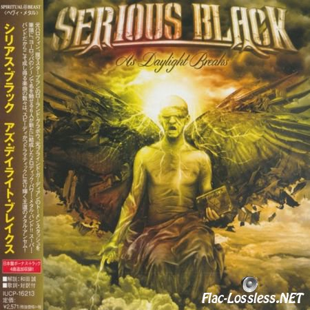 Serious Black - As Daylight Breaks (Japanese Edition) (2015) FLAC (image + .cue)