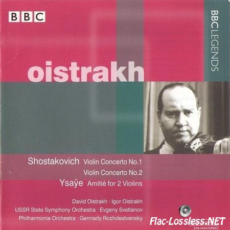 David Oistrakh - BBC Legends (2001) FLAC (image + .cue)