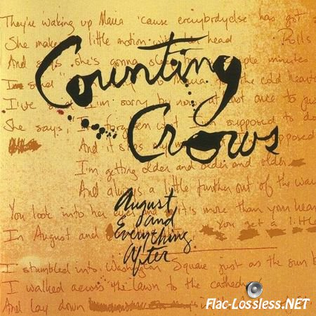Counting Crows - August And Everything After (1993/2013) WV (image + .cue)