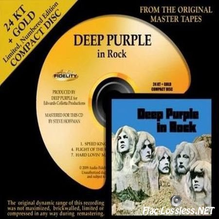 Deep Purple - In Rock (AFZ 051 24K Gold Remaster) (1970/2009) WV (image + .cue)