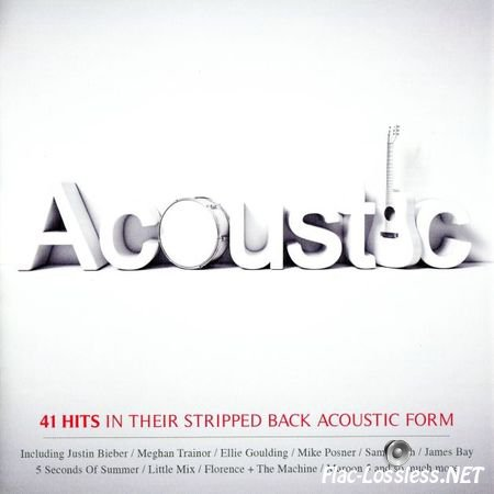 VA - Acoustic : 41 Hits In Their Stripped Back Acoustic Form (2016) FLAC