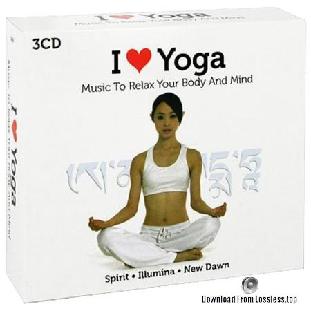 Levantis - I Love Yoga (Music To Relax Your Body And Mind), 3CD Box Set (2009) FLAC (tracks + .cue)