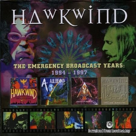 Hawkwind - The Emergency Broadcast Years (1994, 1997, 2018) FLAC (image + .cue)