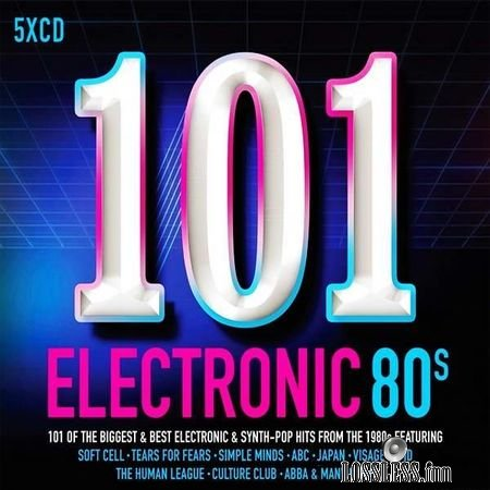 VA - 101 Electronic 80s (2017) FLAC (tracks + .cue)