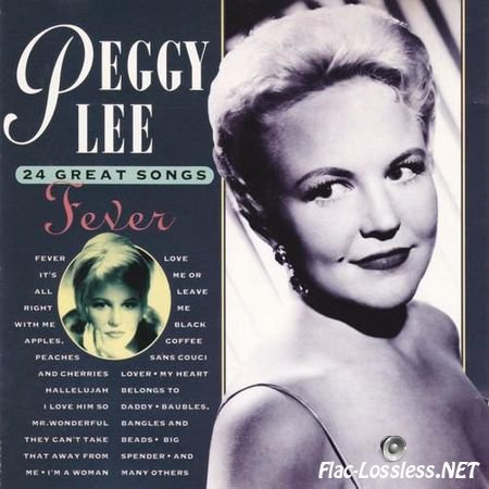 Peggy Lee - Fever. 24 Great Songs (1993) FLAC (tracks + .cue)