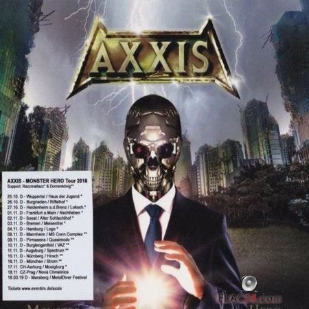 Axxis - Monster Hero (2018) FLAC (image + .cue)
