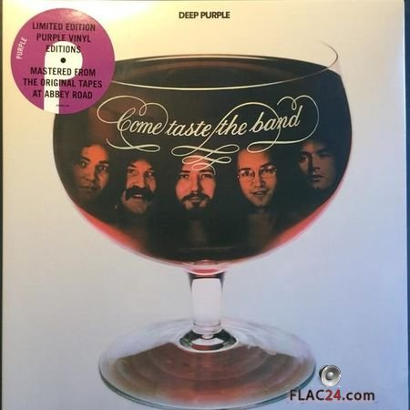 Deep Purple - Come Taste The Band (1975, 2018) (Vinyl) WV (tracks)