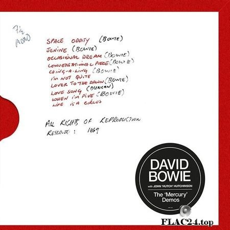 David Bowie - The 'Mercury' Demos (with John 'Hutch' Hutchinson) (2019) FLAC (tracks)