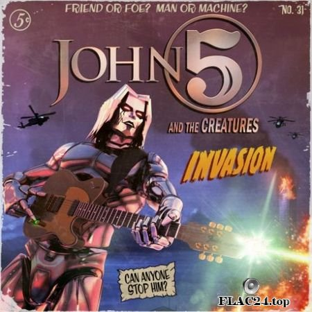 John 5 & The Creatures - Invasion (2019) FLAC