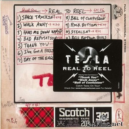 Tesla - Real To Reel 1&2 (2007) FLAC (tracks + .cue)