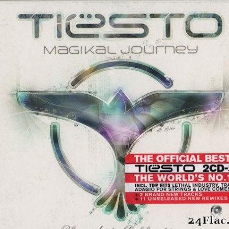 Tiesto - Magikal Journey The Hits Collection 1998 - 2008 (2010) [FLAC (image + .cue)]