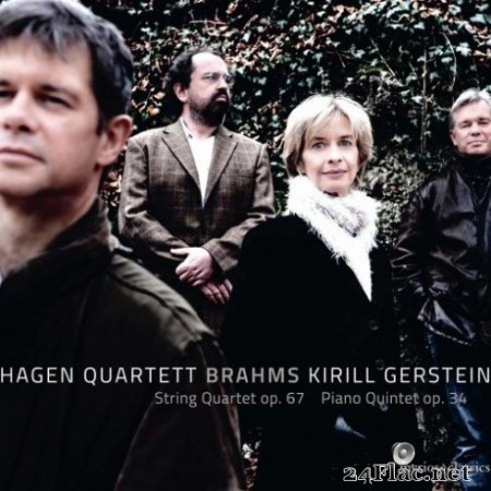 Kirill Gerstein and Hagen Quartett - Brahms: String Quartet No. 3 in B-Flat Major, Op. 67 & Piano Quintet in F Minor, Op. 34 (2019)