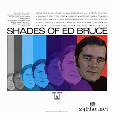 Ed Bruce - Shades of Ed Bruce (2019) Hi-Res