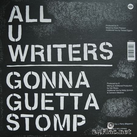 !!! – All U Writers / Gonna Guetta Stomp (2015)(24bit Hi-Res) WAV