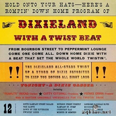 The Dixie Allstars - Dixieland with a Twist Beat (Remastered from the Original Somerset Tapes) (1962/2019) Hi-Res