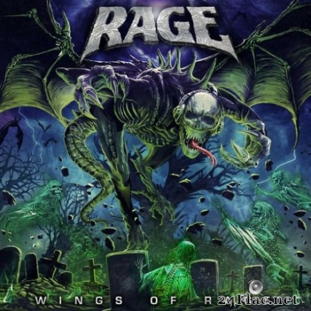 Rage - Wings of Rage (2020) FLAC