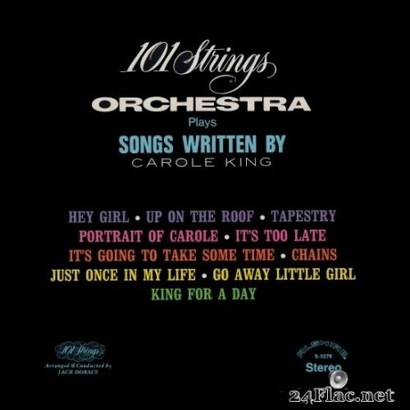 101 Strings Orchestra - Songs Written by Carole King (Remastered from the Original Alshire Tapes) (1972/2020) Hi-Res