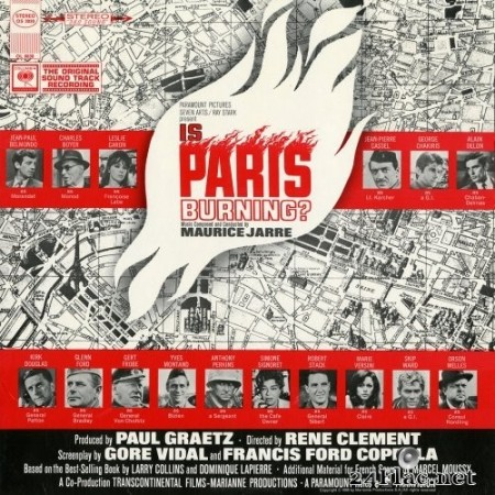 Maurice Jarre - Is Paris Burning ? - Paris brûle-t-il ? (2016) Hi-Res