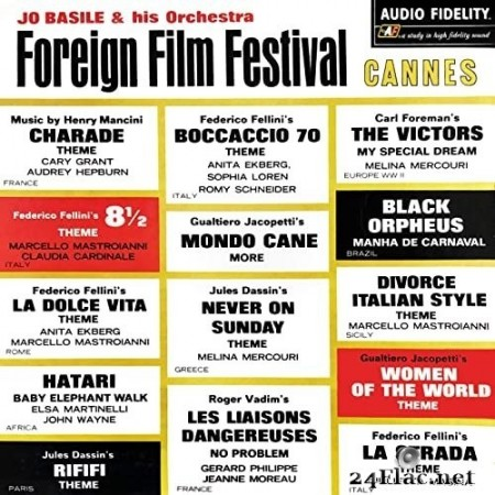Jo Basile & His Orchestra - Foreign Film Festival: Cannes (1964/2020) Hi-Res