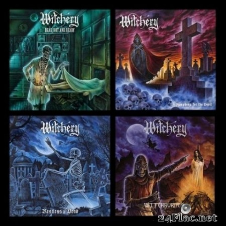 Witchery - Re-issue, Remastered 2019 (4CD) (2020) FLAC
