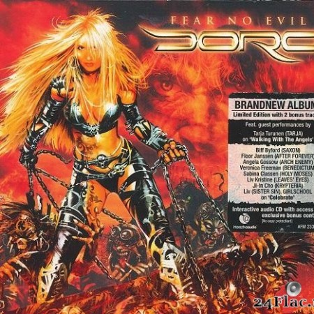 Doro - Fear no Evil (2009) [FLAC (tracks + .cue)]