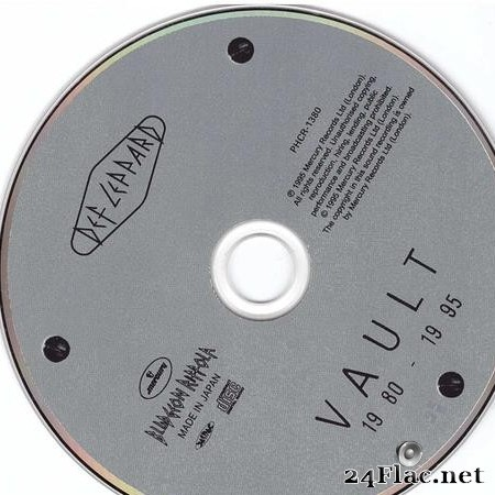 Def Leppard - Vault - Def Leppard Greatest Hits (1995) [FLAC (image + .cue)]
