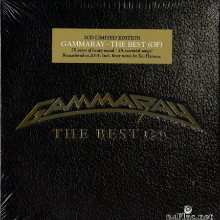 Gamma Ray - The Best Of (2015) [FLAC (image + .cue)]