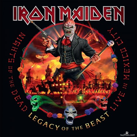 Iron Maiden - Nights of the Dead, Legacy of the Beast: Live in Mexico City (2020) FLAC