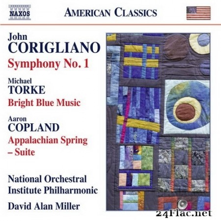 David Alan Miller, National Orchestral Institute Philharmonic - Corigliano, Copland, Torke:  Symphony No. 1 (2016) Hi-Res