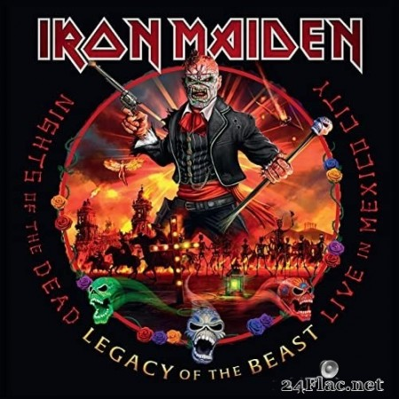 Iron Maiden - Nights of the Dead, Legacy of the Beast: Live in Mexico City (2020) Hi-Res
