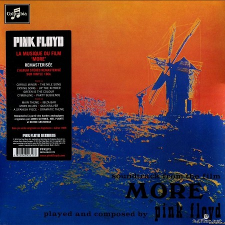 Pink Floyd - Music From The Film More (1969/2016) [Vinyl] [FLAC (tracks + .cue)]