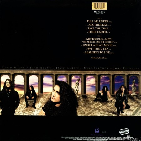 Dream Theater - Images And Words (1992) (Promo) [Vinyl] [FLAC (tracks + .cue)]