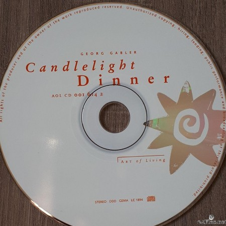 Georg Gabler - Candlelight Dinner (1999) [FLAC (tracks + .cue)]