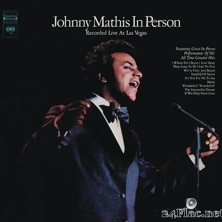 Johnny Mathis - In Person (Live) (1972) [FLAC (tracks)]