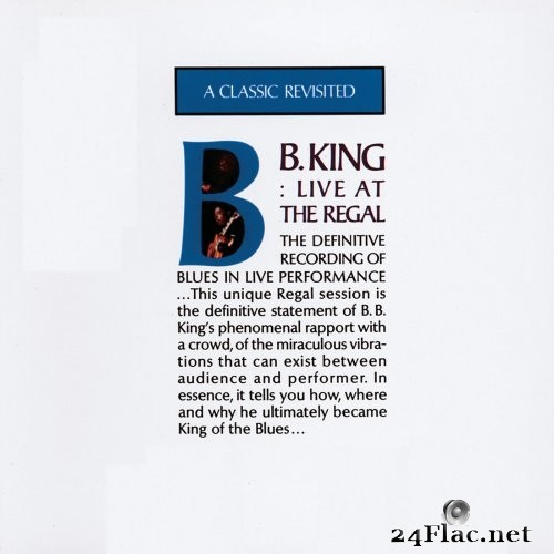 B.B. King - Live At The Regal (1965/2020) Hi-Res