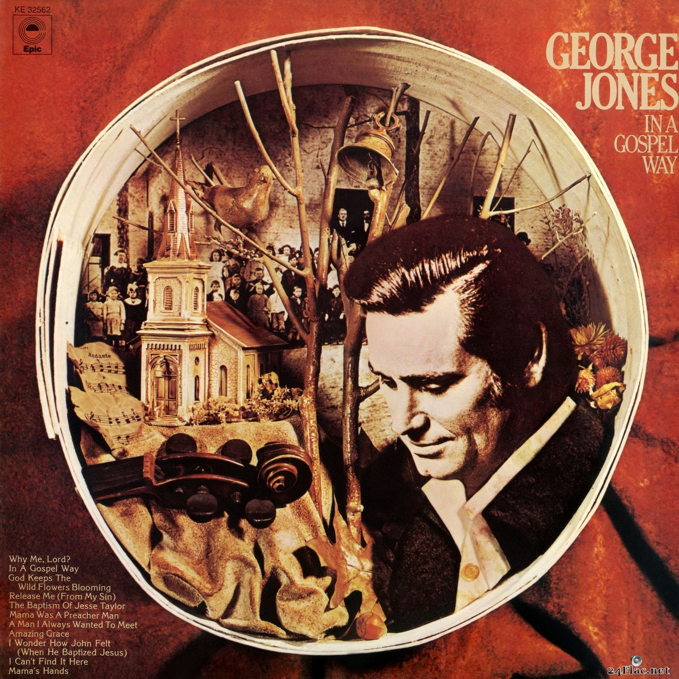 George Jones - In a Gospel Way (2019) Hi-Res