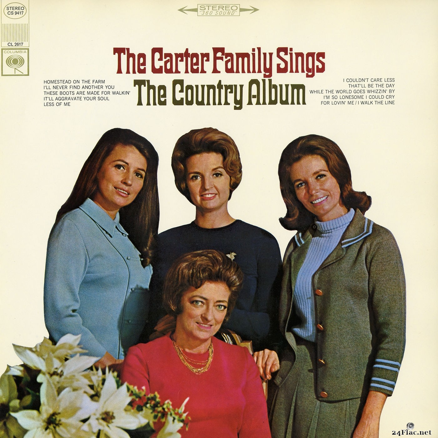The Carter Family - The Carter Family Sings the Country Album (2017) Hi-Res
