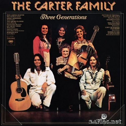 The Carter Family - Three Generations (1974) Hi-Res