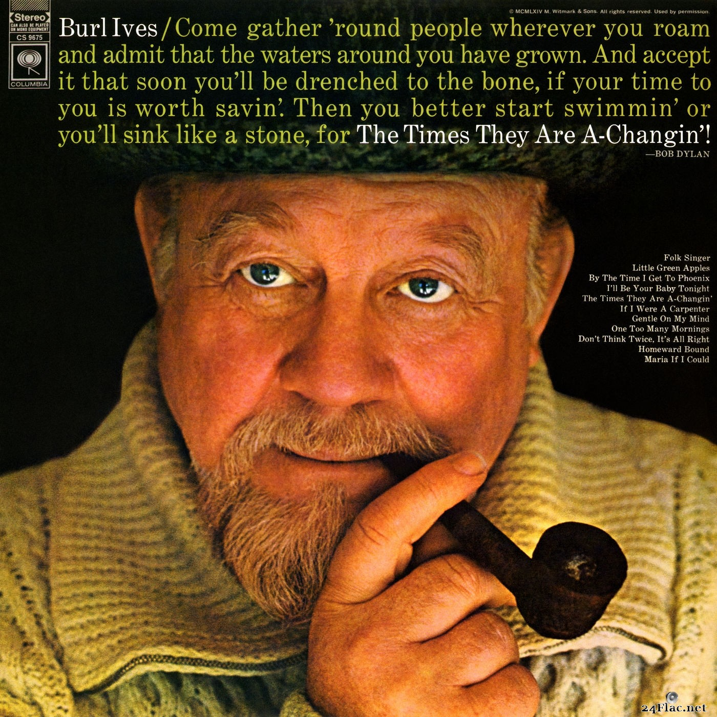 Burl Ives - The Times They Are A-Changin (2018) Hi-Res
